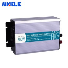 High Quality 500W Pure Sine Wave Power Inverter Input 12/24/48VDC To Output 110/220VAC Backup For Home Use