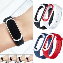 Горячие Красочные Мягкие силиконовые замена ремешок спортивные часы ремешок для Xiaomi Эй плюс Эй+ умный Браслет запястье