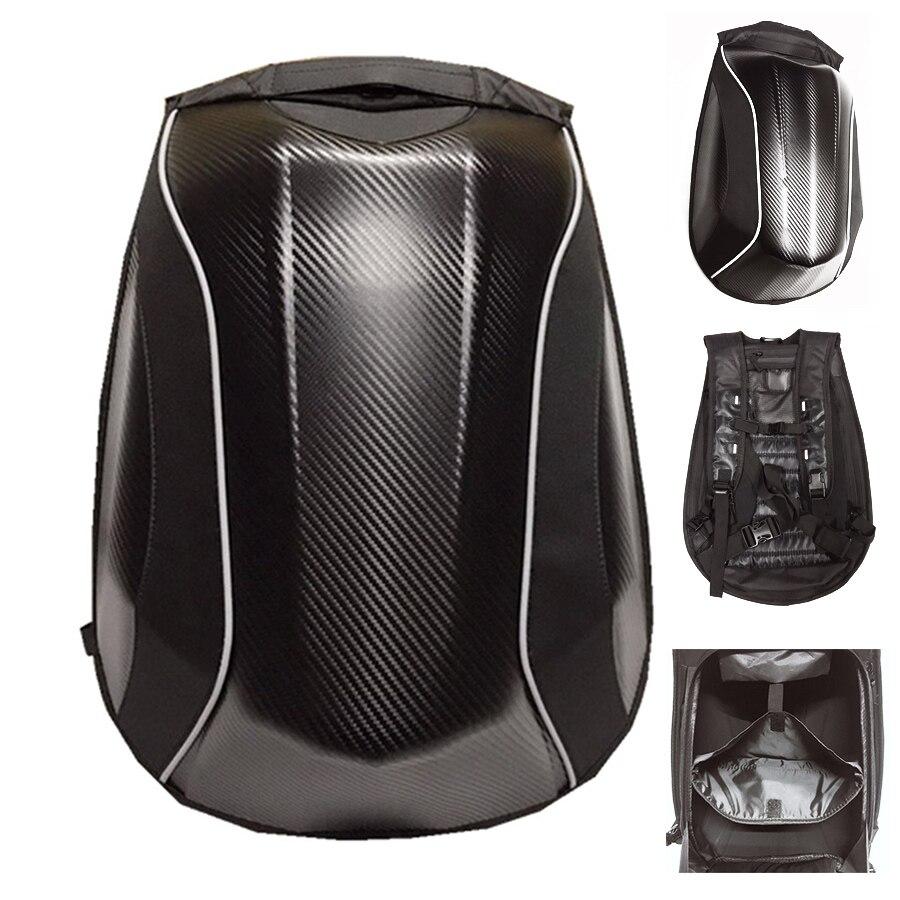 Sac de moto noir frais sac à dos de moto étanche sac de moto de voyage