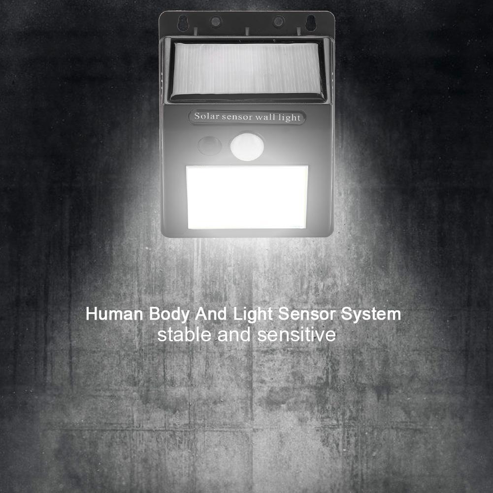 Led Outdoor-wandlampe Led-lampen 35cob Solar Betriebene Wasserdichte Wand Licht Außen Menschlichen Körper Motion Sensor Leuchte Lampe 2019 Offiziell