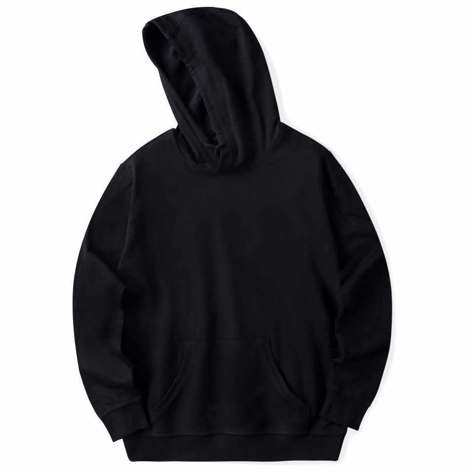 6 종류의 새로운 브랜드 남성 후드 면화 streetwear 스웨터 남성 힙합 블랙 화이트 후드 hoody 남성/여성 후드 플러스 크기
