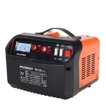 Устройство зарядное PATRIOT BCT- 30 Start A (Ток зарядки 42А, 2 ступени зарядки 12-24 В, амперметр, индикатор зарядки, предохранитель 80 А)