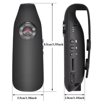 EastVita HD 1080P 130 degree Mini Camcorder Dash Cam Police Body Motorcycle Bike Motion Camera US PLUG r20