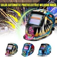 New Style Solar Automatic Photoelectric Welding Mask Helmet Welding Caps Solar Power Welding Helmets