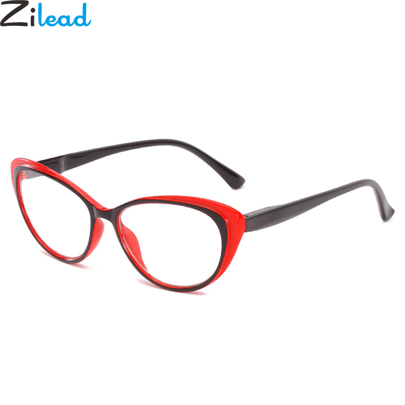 Zilead Cat Eyes Reading Glasses For Women Clear Lens Spectacles Presbyopia Glasses Eyewear +1.0+1.5+2.0+2.5+3.0+3.5+4.0 Unisex