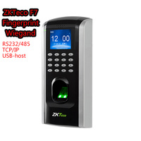ZKTeco F7 Access Control system Biometric Fingerprint Device ZK Finger V9.0 RS232/485 Anti Passback Built in Wiegand Output