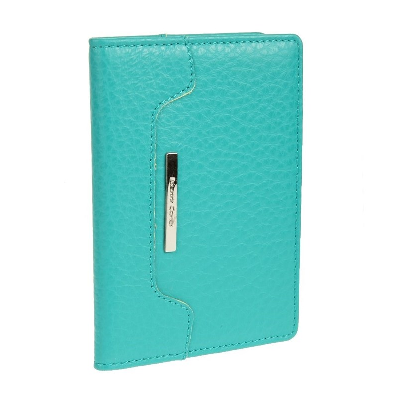 Passport cover Gianni Conti 1717455 green hot overseas travel accessories passport cover luggage accessories passport card energy
