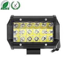 18 Lights 54W Car Roof LED Work Lights Off-road Modified For Pickup Wagon ATV SUV Bus Retrofit Spotlight/ Flood Light