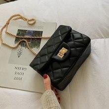 Luxury Brand Crossbody Bags For Women 2019 High Quality PU Leather Female Designer Handbags Ladies Chains Shoulder Messenger Bag crossbody bag for women patent leather luxury brand designer shoulder bags with chains ladies small messenger bags