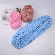 100g/ball Worsted 5 ply Multi color Soft Coral Velvet Yarn Wool Cashmere for Hand Knitting Crochet DIY Towel Thread QW058