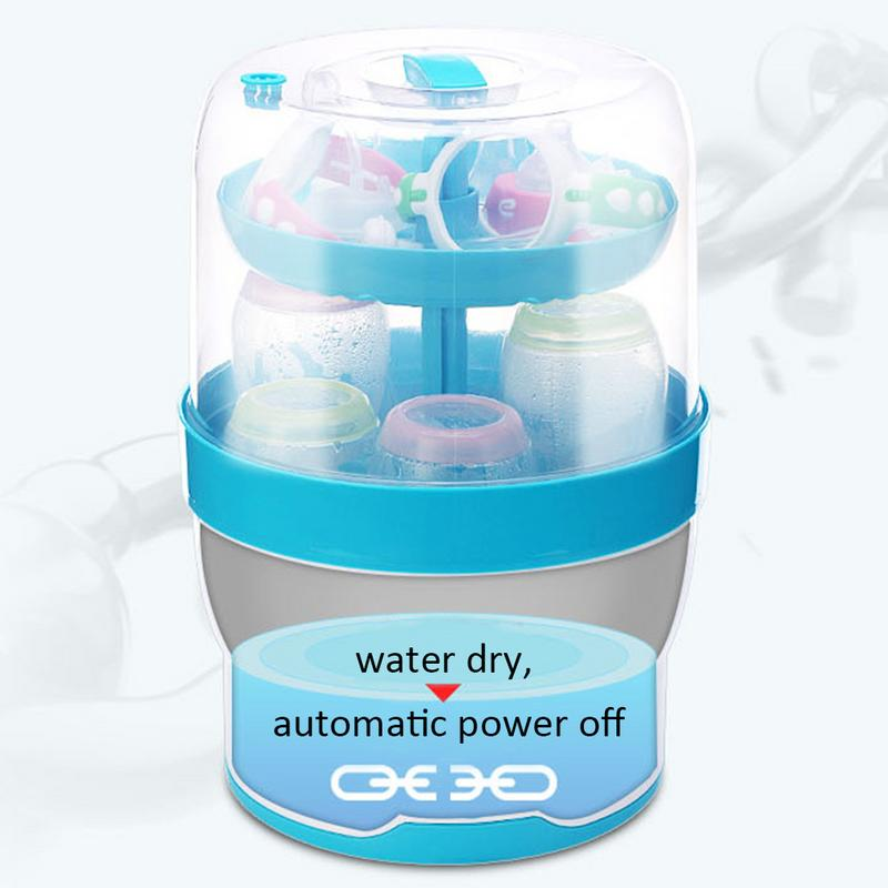Baby Bottle Sterilizer Steamed Food Heater Large Capacity Steam Pot Safe And Harmless Maternal And Children