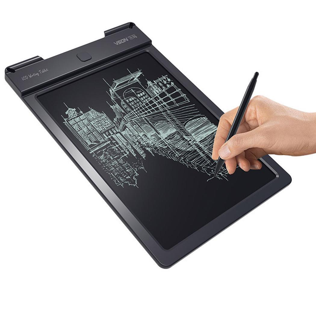 1 Note x Tablet Button CR2032 Writing Battery Office Portable Writing Electronic Inches 9 Board LCD