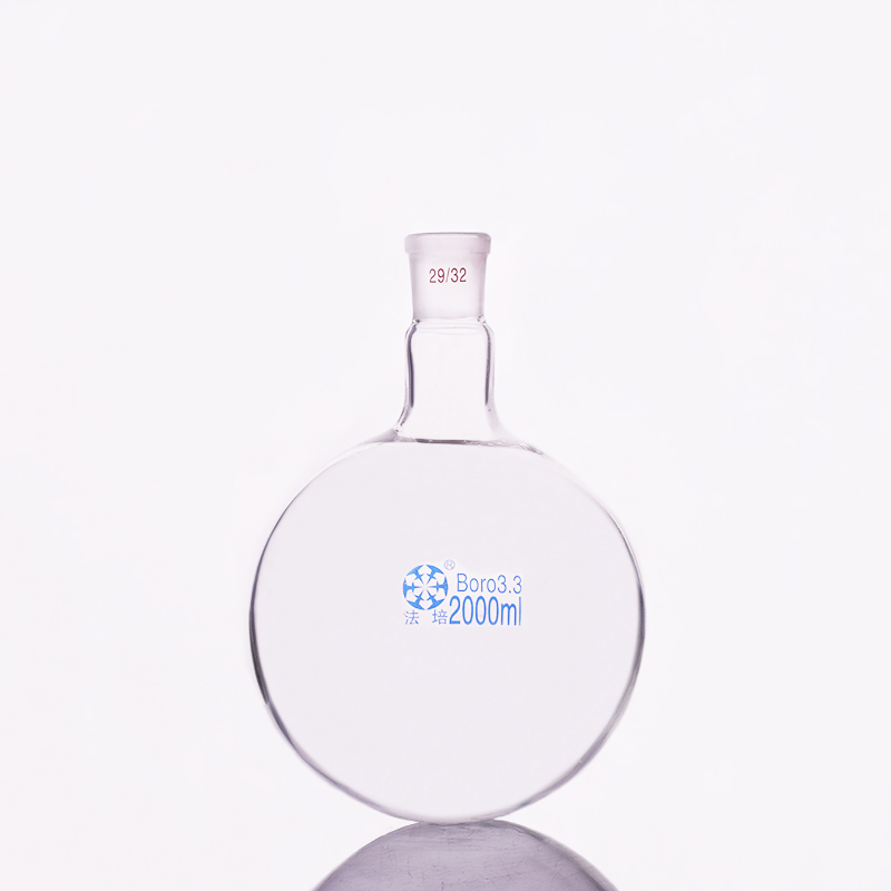 Single Standard Mouth Round-bottomed Flask,Capacity 2000ml And Joint 29/32,Single Neck Round Flask