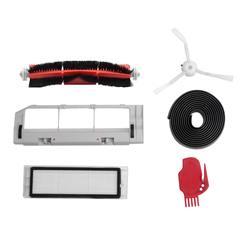 5 шт. для Xiaomi Mi робот вакуумные умный уборщик интимные аксессуары невидимые стены сбоку расчёски волос фильтр прокатки Буш