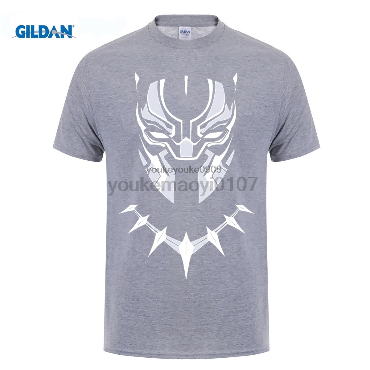 GILDAN Black Panther T Shirt Face Superhero Avengers Civil War All on Sale New Fashion Summer T Shirt in T Shirts from Men 39 s Clothing