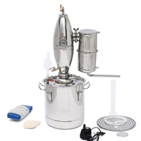 20L Stainless DIY Home Distiller Alambic Alcohol Wine Making Device Kit Wine Maker Brew Wine Making Tools Kit Alcohol Distiller