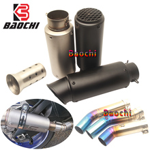 Refit Motorcycle Exhaust Muffler Escape DB Killer 51 for Suzuki GSXR700 Gsxr 600 750 800 Gsxr600 GSXR750 K6 K7 K8 Exhaust System universal motorcycle scooter exhaust pipe muffler escape for suzuki sv650 sv650s sv1000 sv1000s gsxr 600 750 gsxr600 gsx r750
