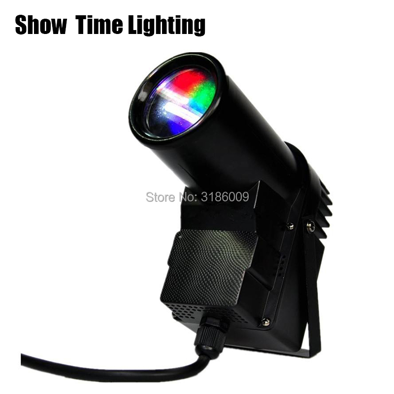 Show Time LED RGB PinSpot LED Beam spot effect color light Use with glass ball for DJ KTV Party Disco wedding all star in sky image