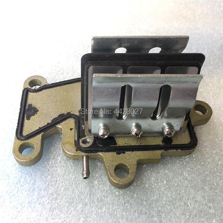63w-13610-00 Valve Válvula De Lengüeta Assy Para Yamaha Parsun Motor Fueraborda 9.9hp 15hp 2 T