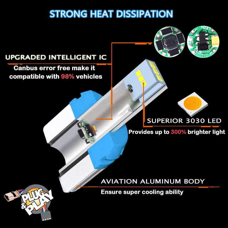 IJDM Car premium T15 LED 6000k biały 12V 24V błąd canbus Free 912 W16W LED żarówki samochodowe światło cofania Turn Signal światło hamowania czerwony