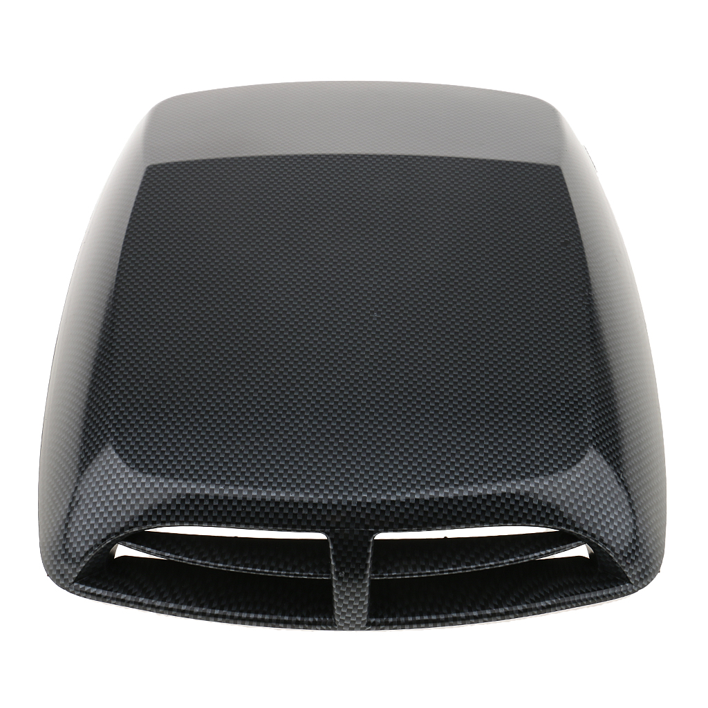 Car Decorative Air Flow Intake Hood Scoop Vent Bonnet Cover Plastic Sticker