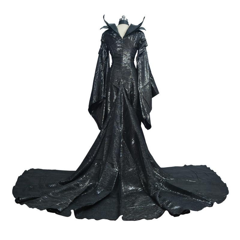 Costume maléfique de luxe adulte Costume de Cosplay de reine maléfique dames robe fantaisie femmes Costume de Cosplay de fête d'halloween
