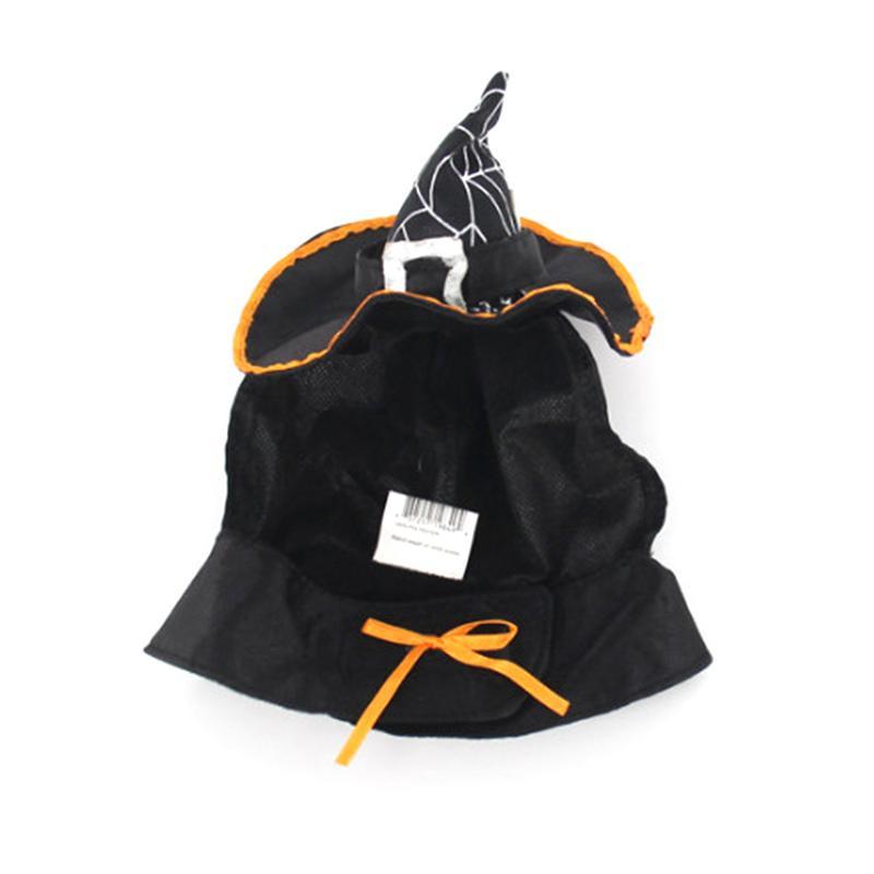 Forniture Per Animali Da Compagnia Cane Cappello Di Vacanza Party Dress Up Cool Cat Cappello Bib Teddy Magia Strega Gatto Cappello Sveglio Di Modo