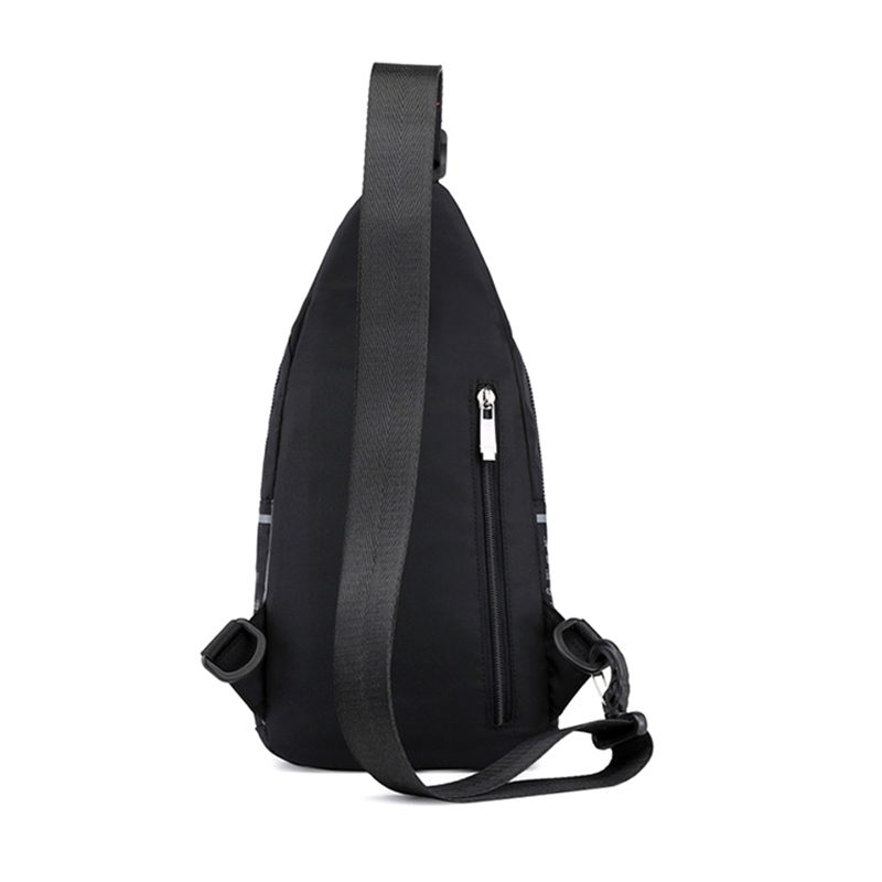 Image 5 - High Quality Nylon Men Chest Bag Rucksack Knapsack Brand Famous Travel Casual Male One Shoulder Bags Sling Backpack Daypack-in Backpacks from Luggage & Bags