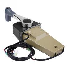 New Marine Outboard Engine Single Binnacle Remote Control Box for Suzuki OEM 67200-93J13