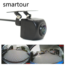 Smartour car reversing backup camera 1000L CCD HD 180 degree Fisheye Lens Rear Front view wide angle night vision parking assist new high quality rear view backup camera parking assist camera for toyota 86790 42030 8679042030