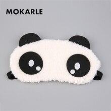 Милый мультфильм панда повязка на глаза для сна маска для глаз Путешествия тени для сна унисекс Спящая плюшевая ткань тенты защита глаз
