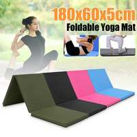 Folding Cushion Gymnastics Gym Mat Exercise Yoga Mats Pad Casual Yoga Blankets For Fitness Outdoor Training Exercise Mattress