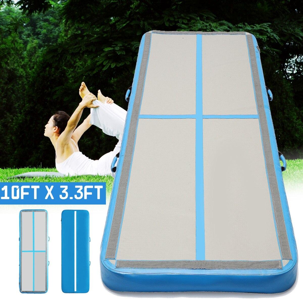 AirTrack гимнастические матрасы x 300x10 см надувные Дешевые 100 тренажерный зал в стиральной машине Air трек пол акробатика воздуха трек для продажи