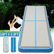 AirTrack гимнастические матрасы x 300×10 см надувные Дешевые 100 тренажерный зал в стиральной машине Air трек пол акробатика воздуха трек для продажи