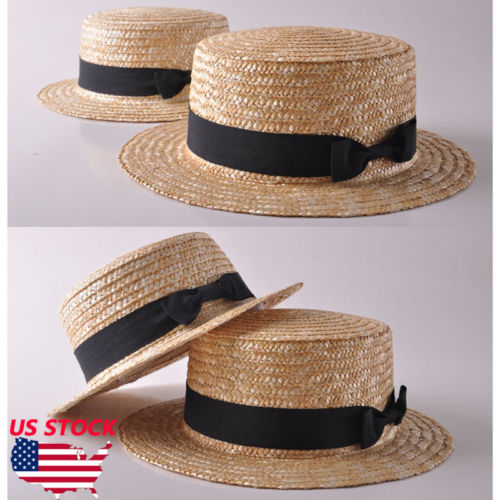 Boho Women Ladies Summer Wide Brim Straw Hat Beach Sun Shade Fashion Hat