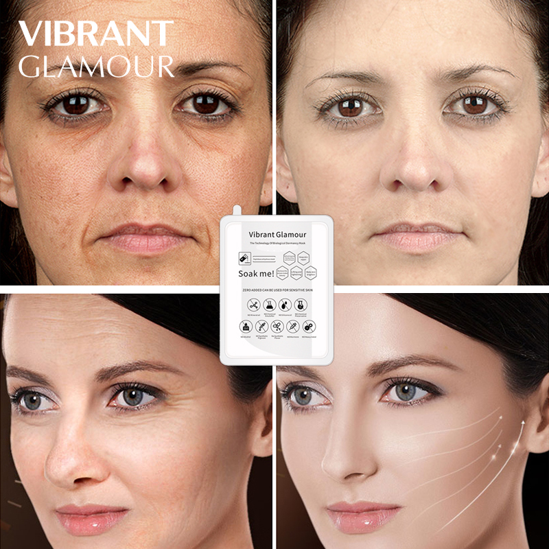 Face Mask Solid Essence Whitening Moisturizing Skin Remove Wrinkles Hyaluronic Acid Anti-Aging Care