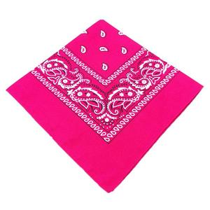 Image 5 - Fashionable Hip Hop Bandana Portable Outdoor Headscarf Square Shawl 55Cm Black Red Headband Printed For Women Men Boys Girls