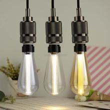 6 uds ST64 3W E27 E26 110V 220V 240V Vintage LED Edison filamento bombillas de luz decorativa guía de luz lámpara de mesa lámpara de pared