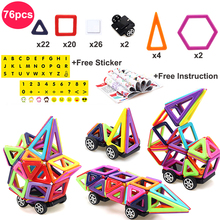 76 Pieces Magnetic Mini Size Design And 3d Model Building Of Blocks Educational Toy For Children