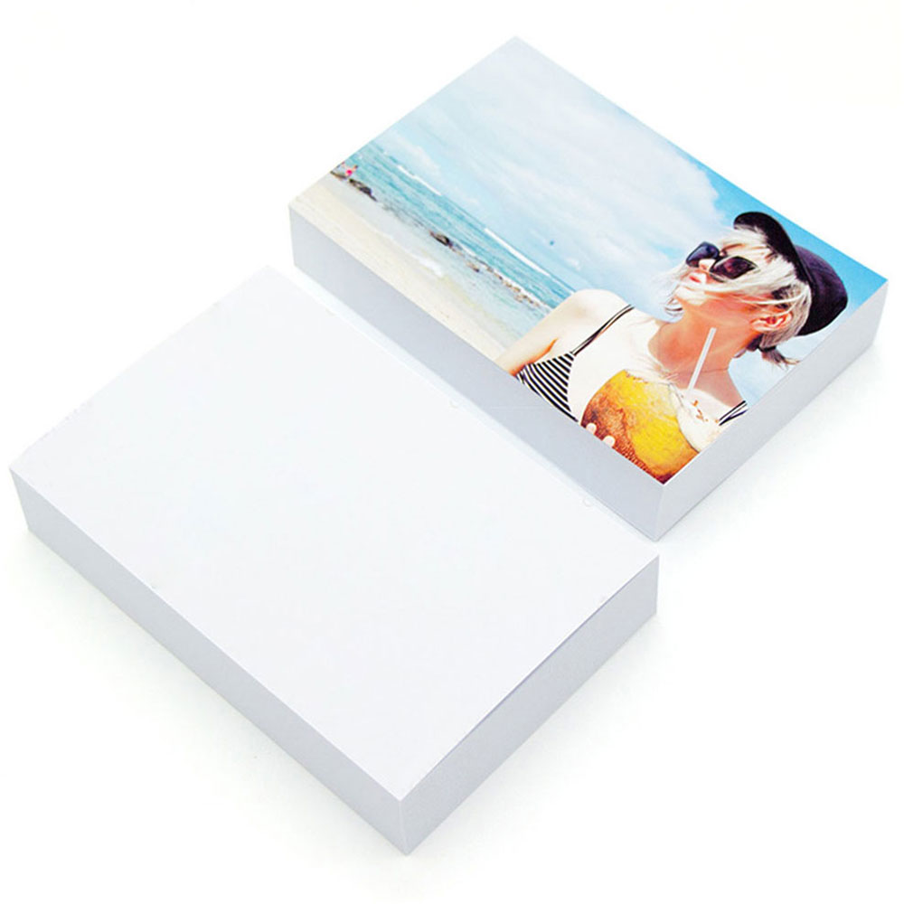 A4 Photo Paper Glossy Printer Photographic Paper High-gloss paper for Inkjet Printer Office Supplies image
