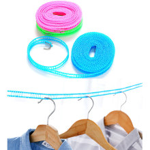 Outdoor Portable Tendedero De Ropa Anti-skid Windproof Fence Clothesline 3M/5M Drying Rope Space Saving Clothes