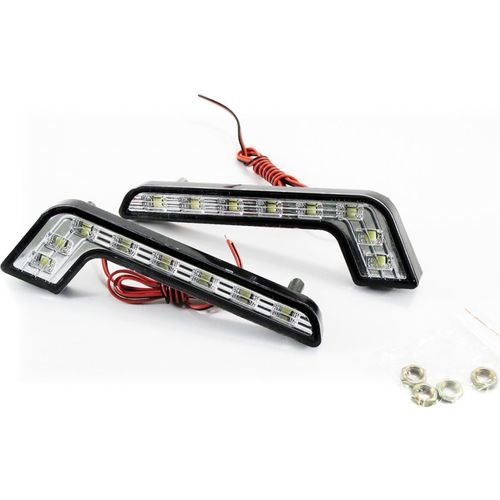 Running lights NACK Orion DRL-Z 8SMD (5083) 2pps 1157 bay15d switchback led dual color white amber yellow 120 smd 1210 turn signal lights daytime running lights drl 12v