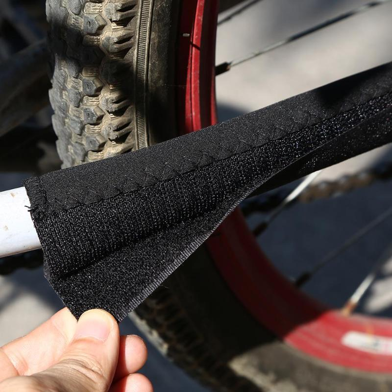 Bike Accessaries MTB bike Guard Cover Pad Bicycle Frame Chain Stay Posted Protector Black Polyester Chain Guard Protection
