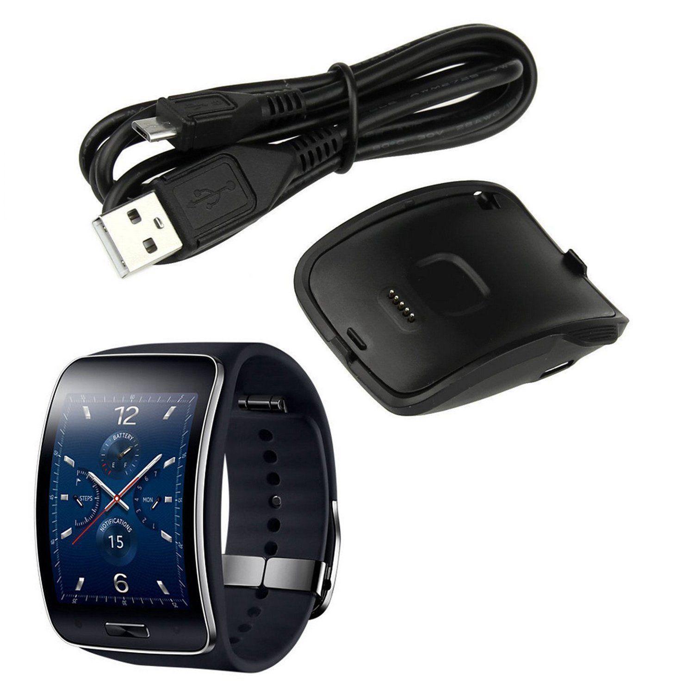 100% QualitäT Opq-für Getriebe S R750 Ladegerät, Verbesserte Tragbare Ladegerät Dock Cradle Mit Usb Ladekabel Für Samsung Getriebe S R750 Smart Uhr (