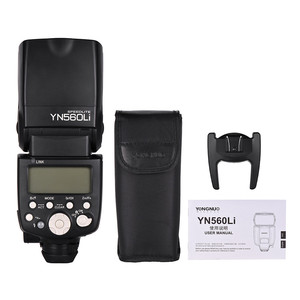 Image 5 - 永諾YN560Li電源フラッシュスピードライトGN58 2.4 キヤノンニコンペンタックスオリンパスデジタル一眼レフカメラ
