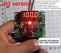 DSP-FM Technologie FM Radio Sender Modul Digitale led-anzeige FM frequenz 65 MHz-125 MHz Für Drahtlose Audio Sound 12V 24V