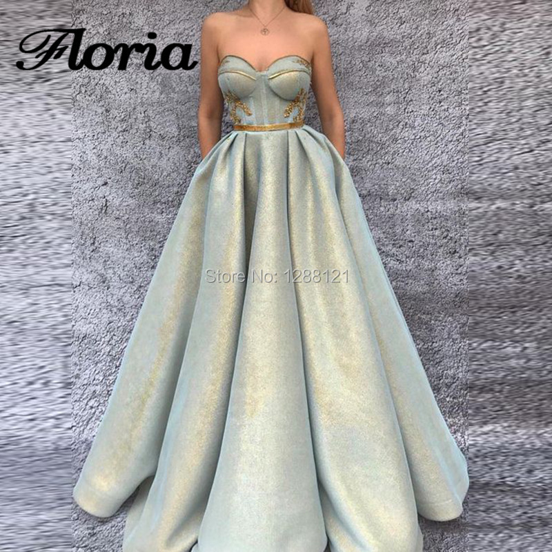 Luxury Evening Dresses Robe de soiree Arabic Dubai Muslim Formal Prom Dress For Weddings Turkish Aibye Glitter Pageant Gowns-in Evening Dresses from Weddings & Events