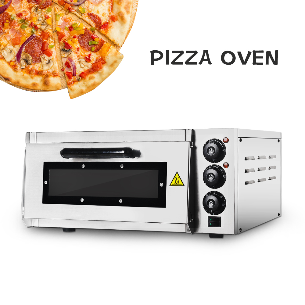 ITOP Electric Commercial Oven Cake Pizza Roasted Chicken Convection Stainless Steel Kitchen Baking Machine Single Roasted Oven