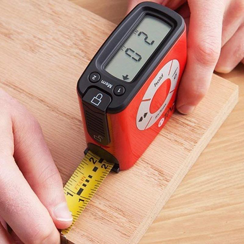 5m Stainless Steel LCD Digital Tape Measure Circumferences Measuring Tape High Presion Digital Tape Measuring Ruler Tools цена 2017