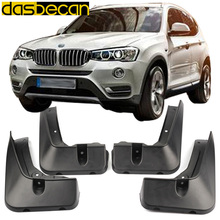 цена на Dasbecan Car Mudguards For BMW X3 F25 2014-2017 Fender Accessories Splash Guard Paneling 2015 2016